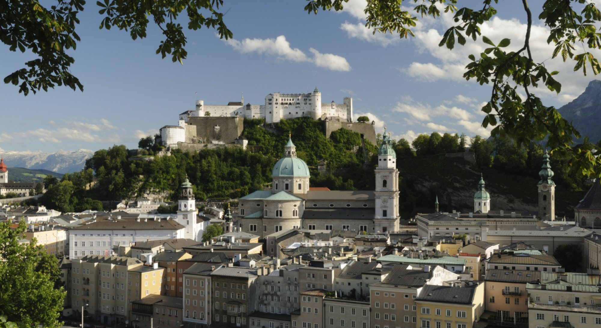 The city of Salzburg is a timeless beauty   © TOURISMUS SALZBURG