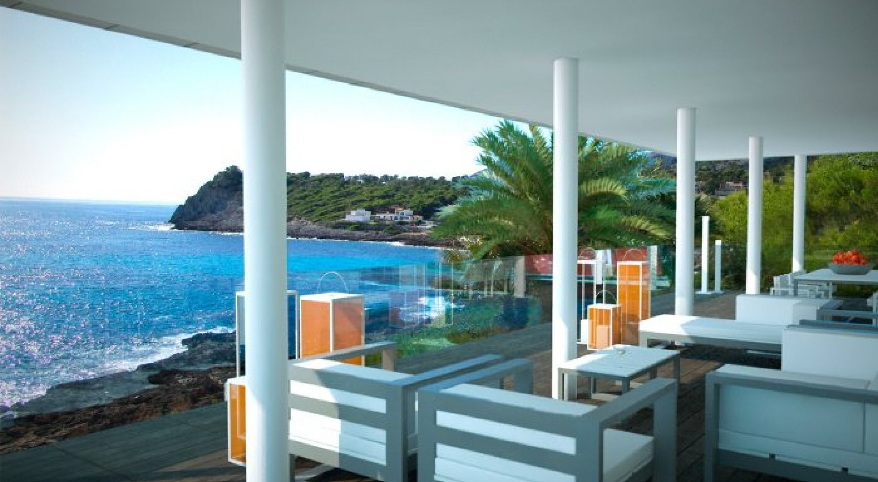 "Property in 07589  Provensals: Mallorca: Modern villa with ""Panoramic sea view"" - picture 3"