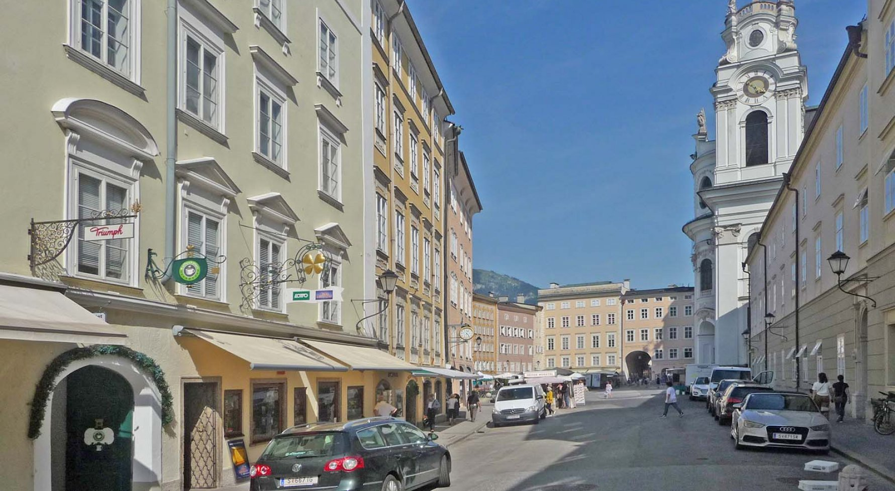 Property in 5020 Salzburg - Altstadt: 227 square metre floor in classic old building with lift - near to Festspielhaus! - picture 1