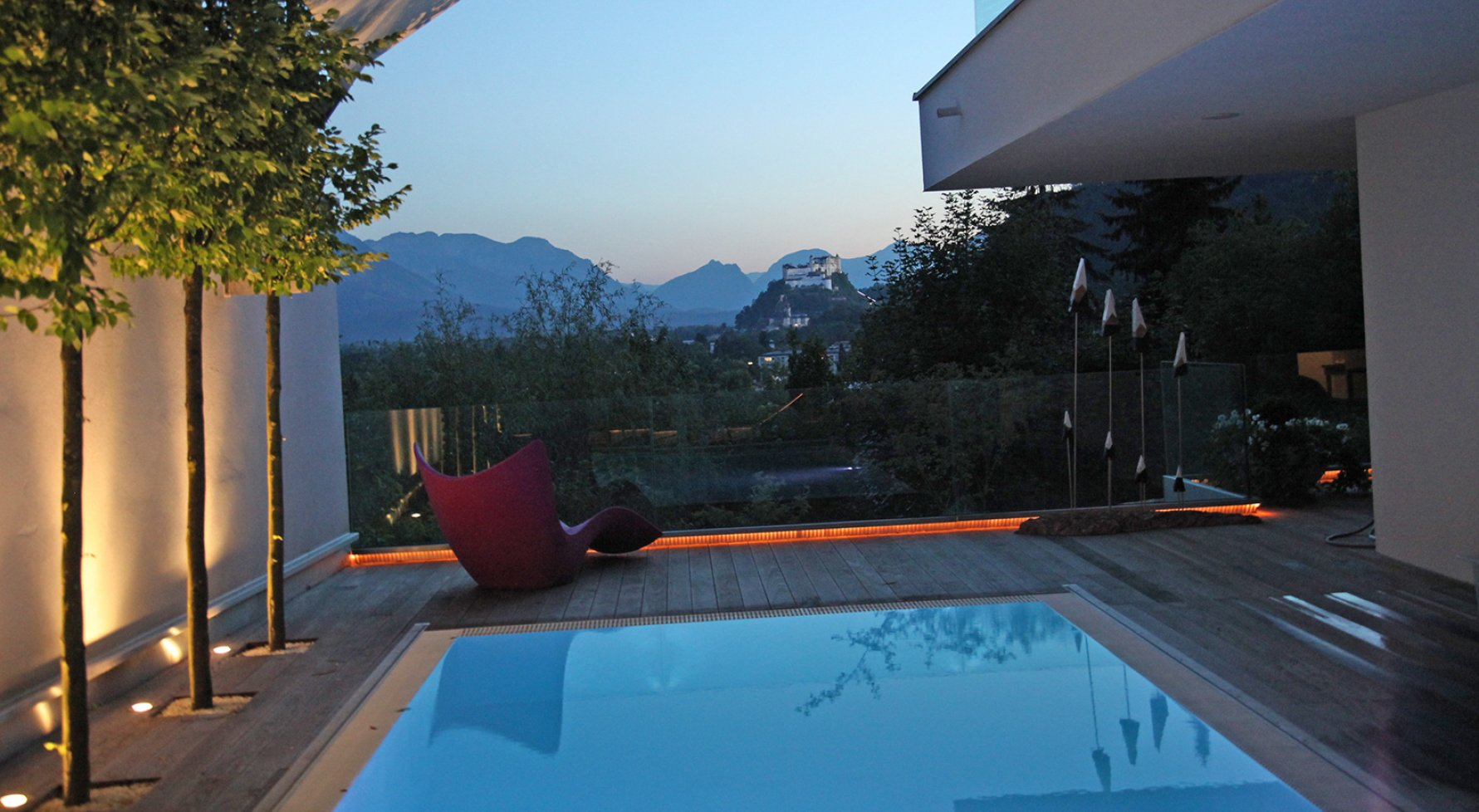 Property in 5020 Salzburg - Aigen am Fusse des Gaisbergs: QUINTESSENCE IN HILLSIDE LOCATION! Hideaway with an exquisite view - picture 1