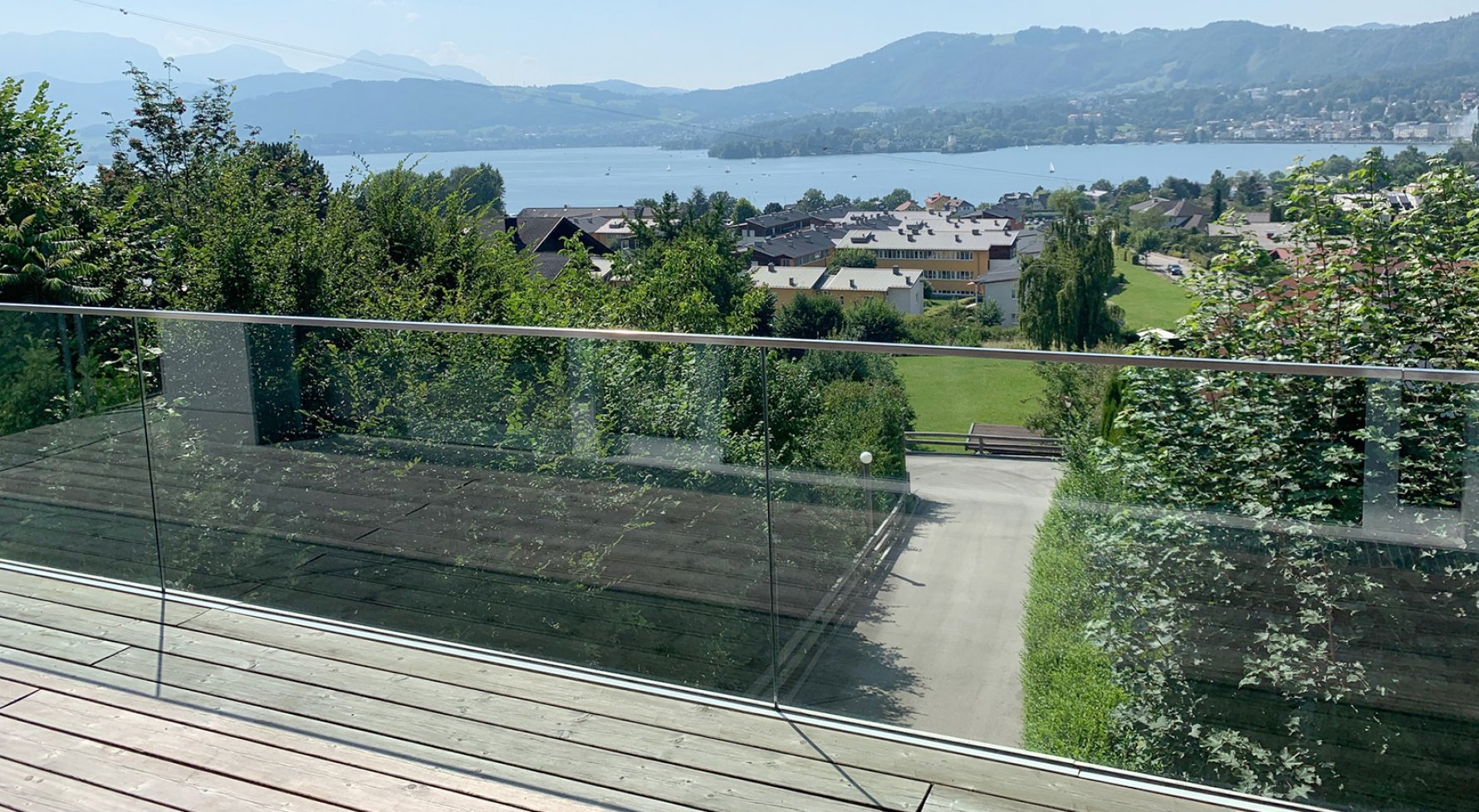 Property in 5310 Mondsee - Salzkammergut: Luxury chalet with lake view pool terrace  - picture 1