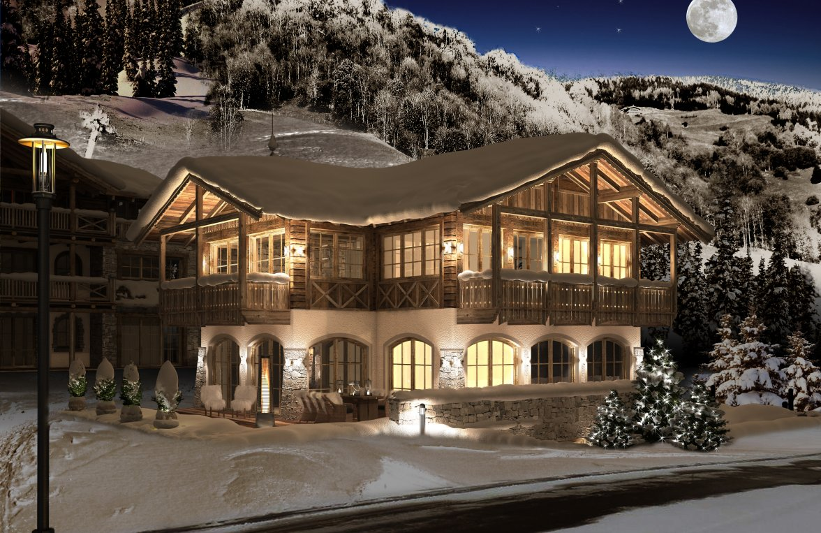 Property in 5731 Hollersbach: Hollersbach: exclusive holiday chalet with designer furnishings - picture 1