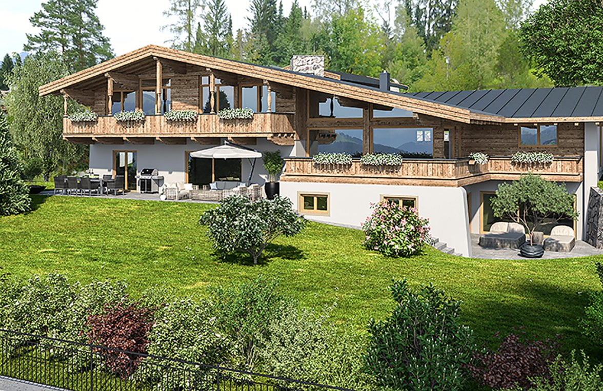 Property in 6370 Kitzbühel: Exclusive high-end villa for first-time occupancy - picture 6