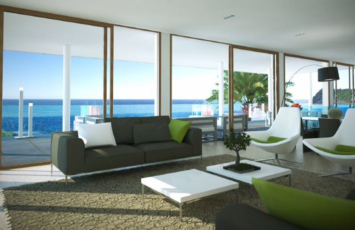 "Property in 07589  Provensals: Mallorca: Modern villa with ""Panoramic sea view"" - picture 2"