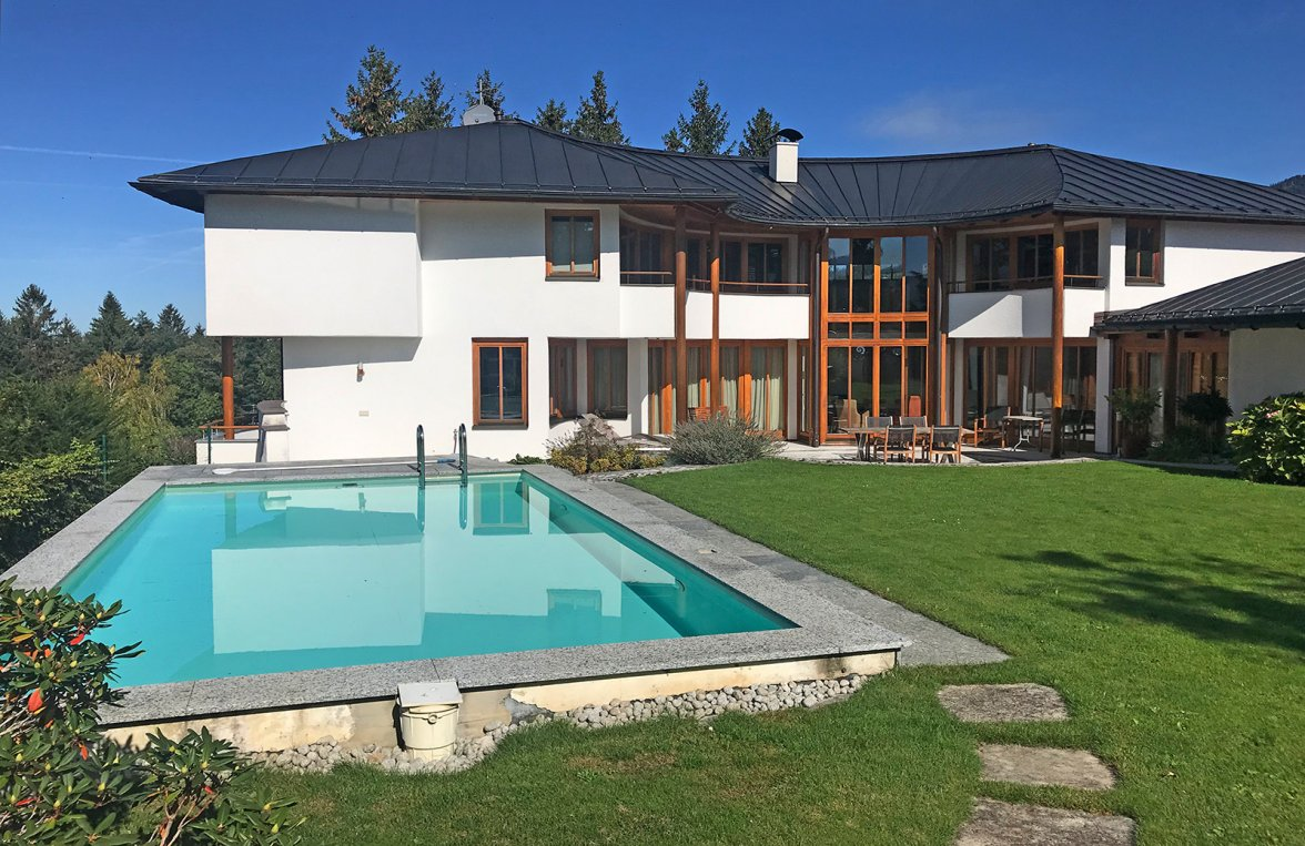 Property in 5423 St. Koloman : Uplifting in a panoramic position! Architect's villa with 360° view  - picture 8