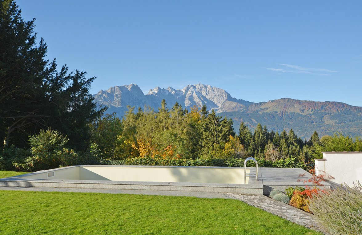 Property in 5423 St. Koloman : Uplifting in a panoramic position! Architect's villa with 360° view  - picture 5