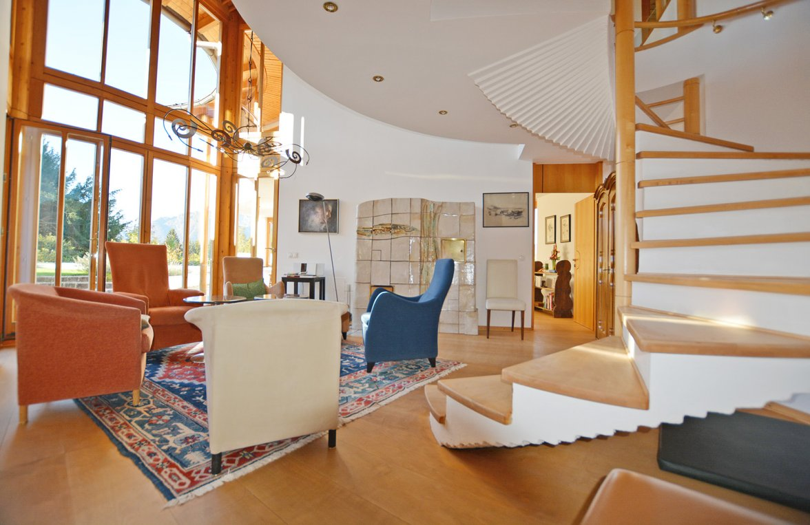 Property in 5423 St. Koloman : Uplifting in a panoramic position! Architect's villa with 360° view  - picture 1