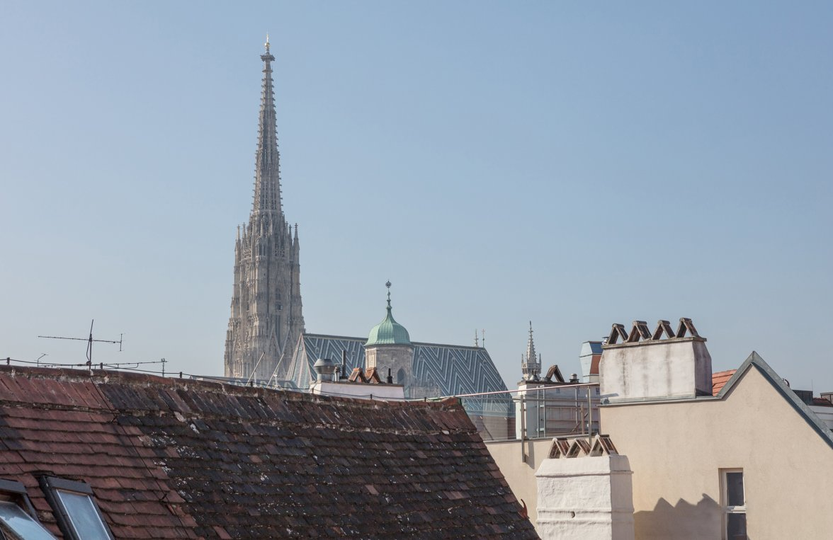 Property in 1010 Wien, 1. Bezirk: DELUXE CITY LIVING WITH VIEWS: Cosy roof-terrace apartment - picture 4