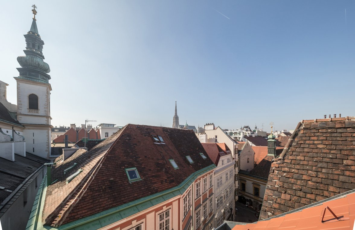 Property in 1010 Wien, 1. Bezirk: DELUXE CITY LIVING WITH VIEWS: Cosy roof-terrace apartment - picture 5