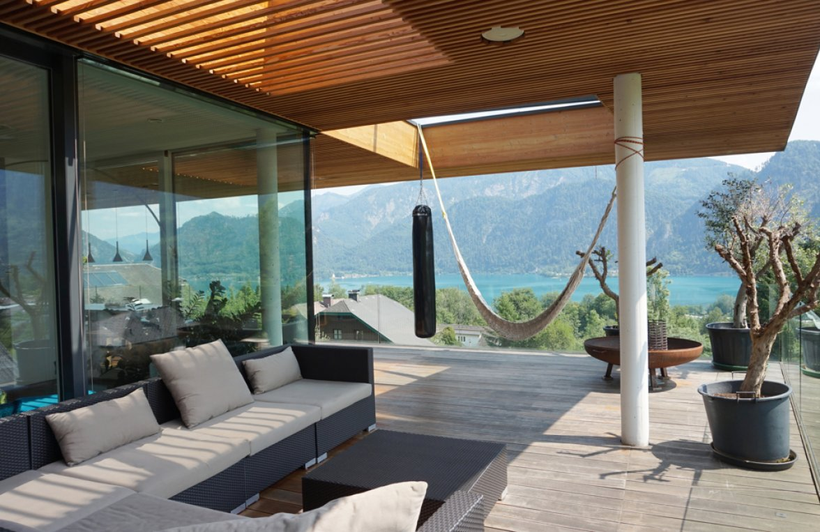 Property in 4866 Unterach am Attersee: SEAWORTHY! Like a cloud ship ... Design villa in Unterach am Attersee - picture 7