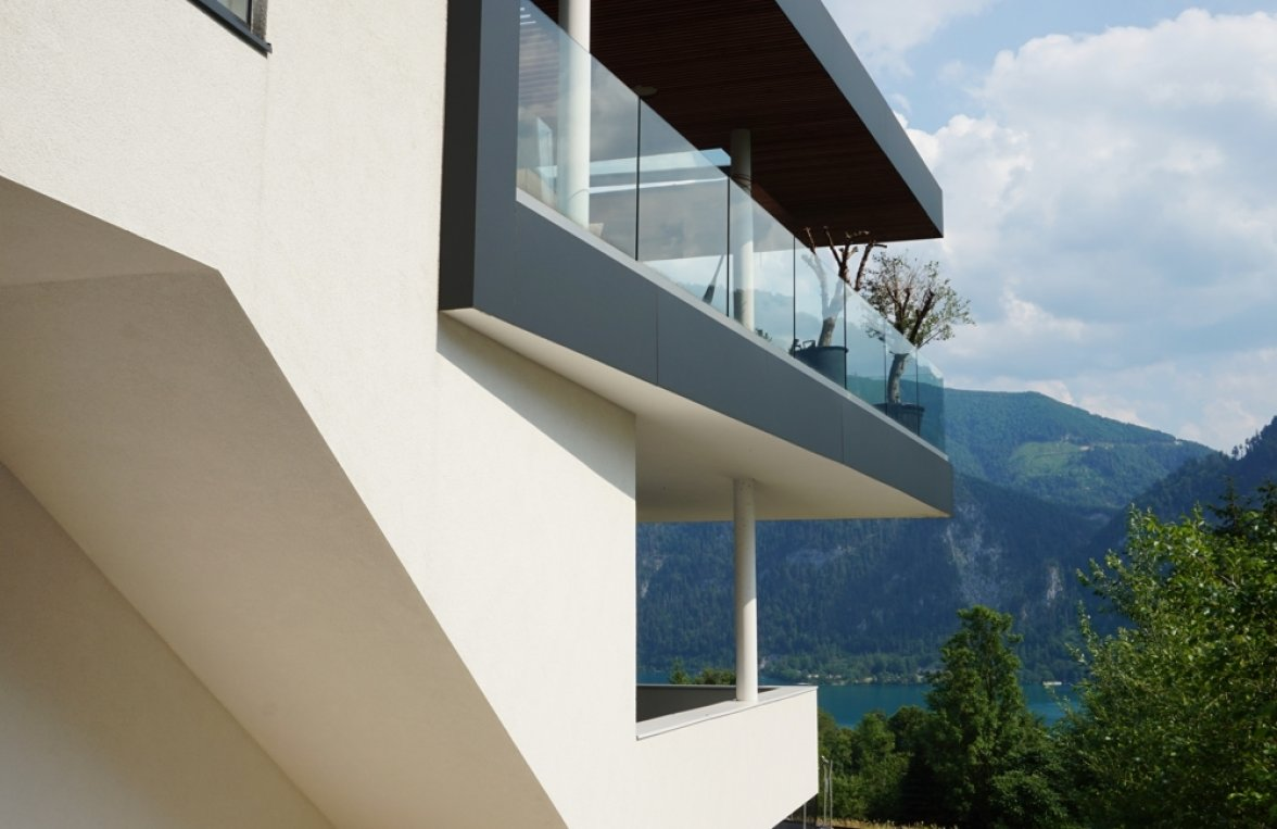 Property in 4866 Unterach am Attersee: SEAWORTHY! Like a cloud ship ... Design villa in Unterach am Attersee - picture 4