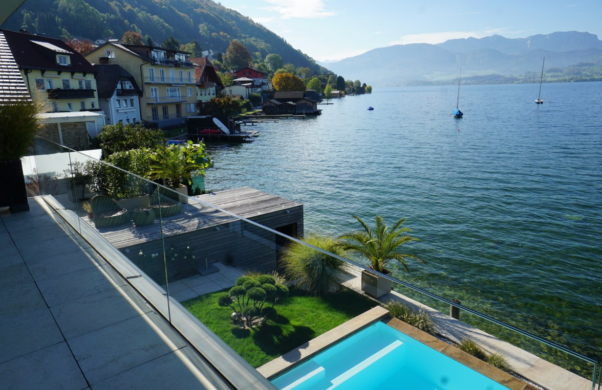 Property in 4810 Gmunden am Traunsee: LUXURY REFUGIUM DIRECTLY ON THE TRAUNSEE!  - picture 6