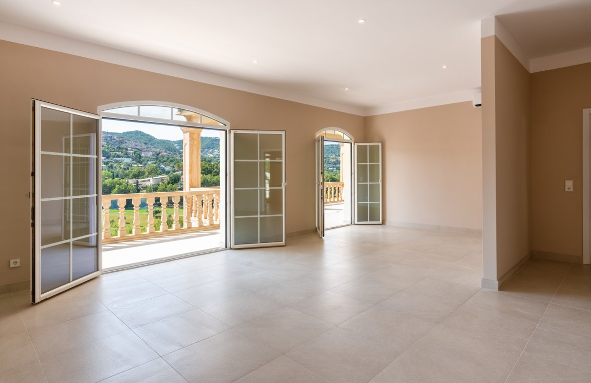 Property in 07013 Son Vida - nahe Palma de Mallorca: STAGE FREE! Impressing family residence right on the golf course in Son Vida! - picture 10