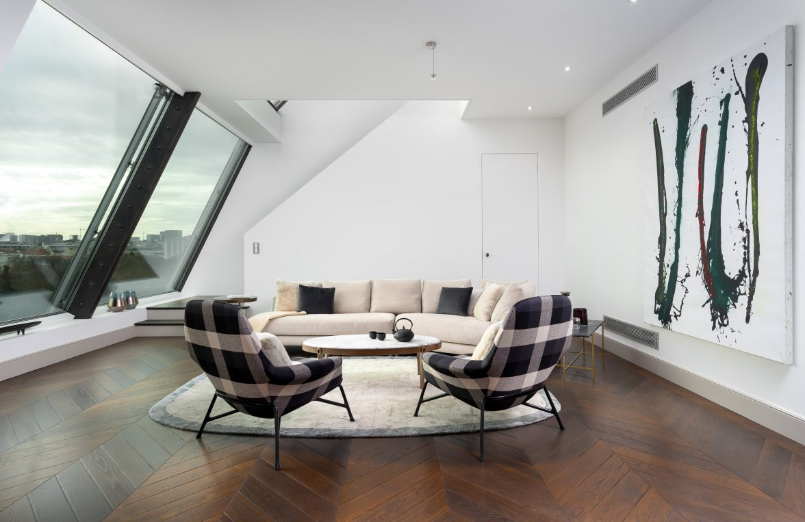 Property in 1010 Wien, 1. Bezirk: LIVING WITH WOW EFFECT! Irreplaceable designer roof terrace apartment - picture 4