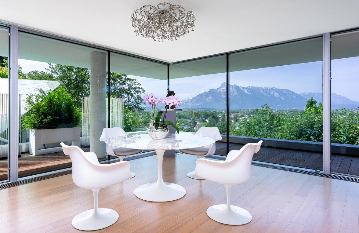 Property in 5020 Salzburg - Aigen am Fusse des Gaisbergs: QUINTESSENCE IN HILLSIDE LOCATION! Hideaway with an exquisite view - picture 2