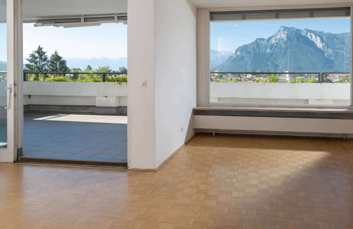 Property in 5020 Salzburg - Maxglan: A real star in the penthouse heaven! With an XXL roof terrace in an ideal central  - picture 1