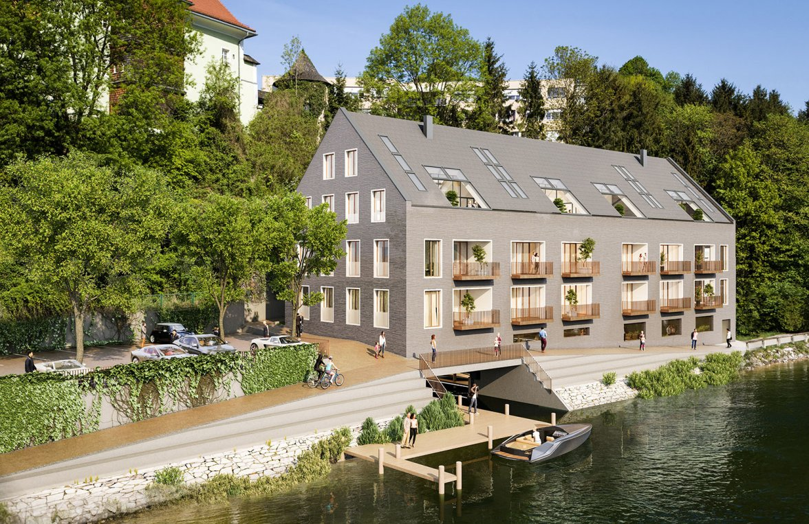 Property in 4810 Gmunden - am Traunsee: UNIQUE OPPORTUNITY! Your domicile right on the water - a Frauscher boat as a gift! - picture 1