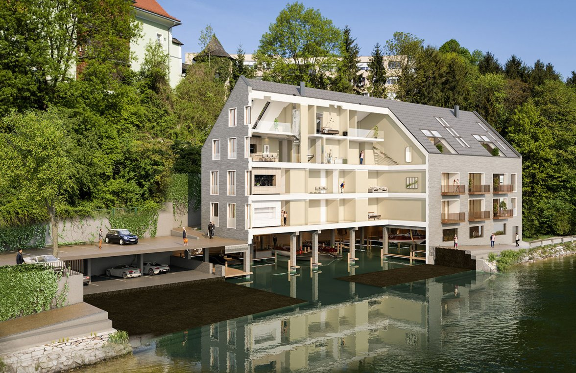 Property in 4810 Gmunden - am Traunsee: UNIQUE OPPORTUNITY! Your domicile right on the water - a Frauscher boat as a gift! - picture 6