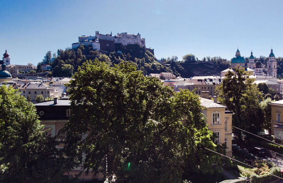 Property in 5020 Salzburg - Altstadt: I like Salzburg! Villa floor with fortress view - picture 8