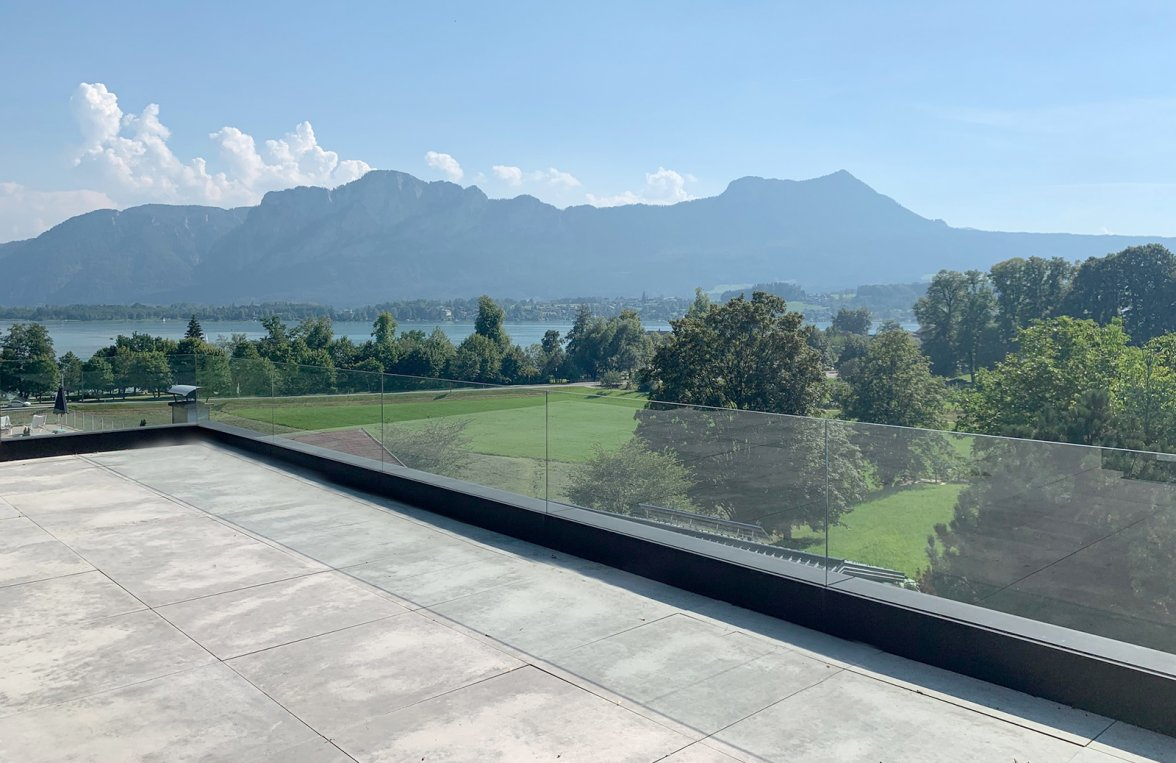 Property in 5310 Mondsee - Salzkammergut: Luxury chalet with lake view pool terrace  - picture 7