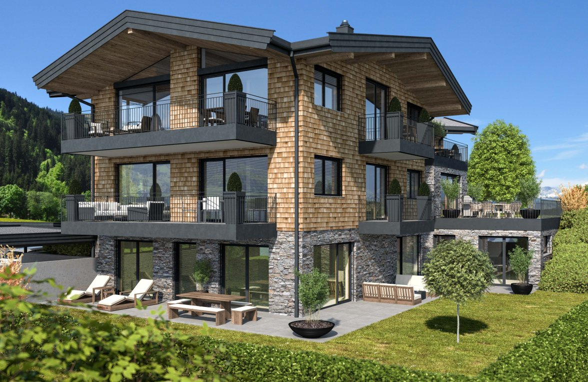 Property in 6370 Kitzbühel: stylish garden apartment for first time occupancy on the outskirts! - picture 1