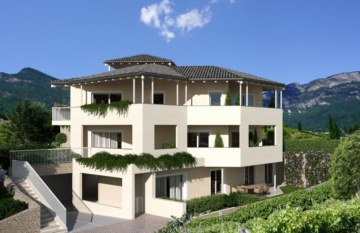 Property in 39052 Kaltern - Trutsch: Kaltern on the lake: Modern apartment next to italian vineyards - picture 2