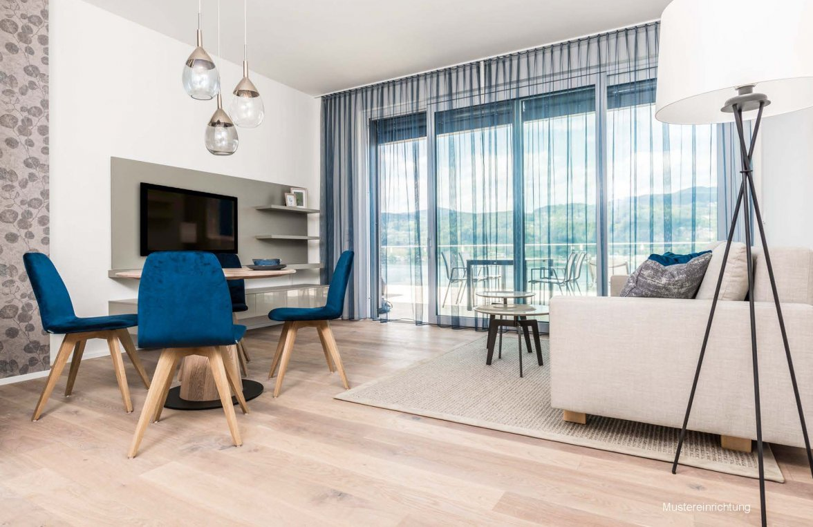 Property in 9082 Maria Wörth: WÖRTHERSEE: Garden apartment with optimal layout on the popular south bank! - picture 4