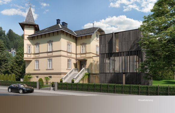 Property in 5020 Salzburg: villa from 1894! Am Neutor - within walking distance to the Festspielhouse