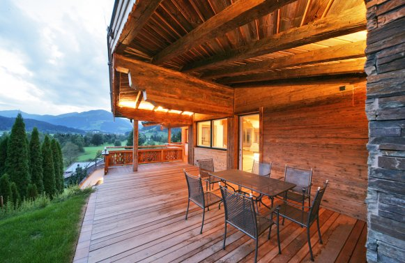 Property in 6370  Kitzbühel: Exclusive building with panoramic view for immediate purchase