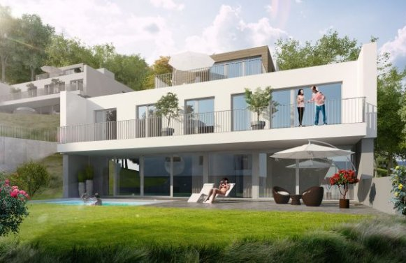 Property in 2371  Hinterbrühl: NEXT DOOR TO NATURE – Newly built villa with pool on the outskirts of Vienna