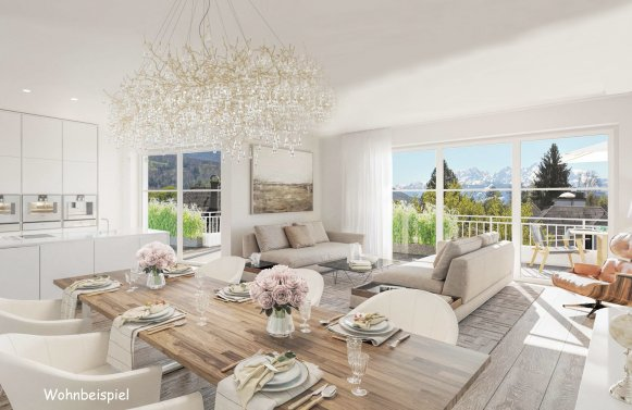Property in 5020 Salzburg-Aigen: FIRST-TIME OCCUPANCY: Exceptional garden apartment in a sought after location!