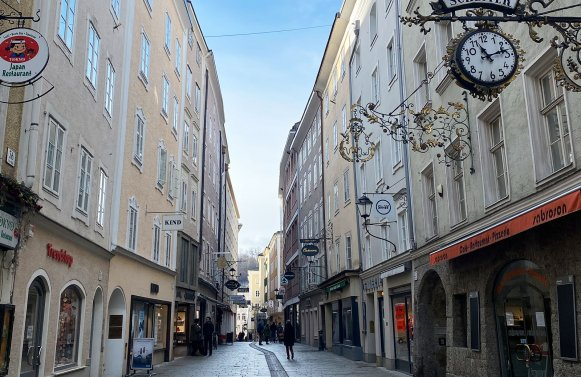 Property in 5020 Salzburg - Rechte Innenstadt: INVESTMENT FOR GENERATIONS! Old town building on the right side of Salzburg