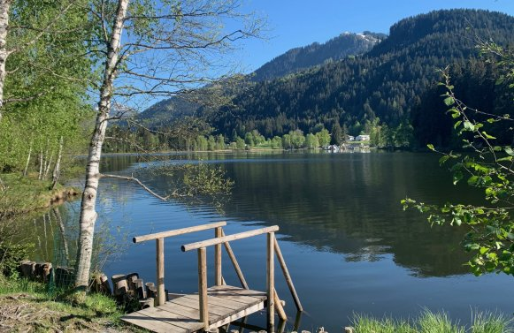 Property in 6370 Kitzbühel - nahe Schwarzsee: property with old stock and a lot of potential near Lake Schwarzsee