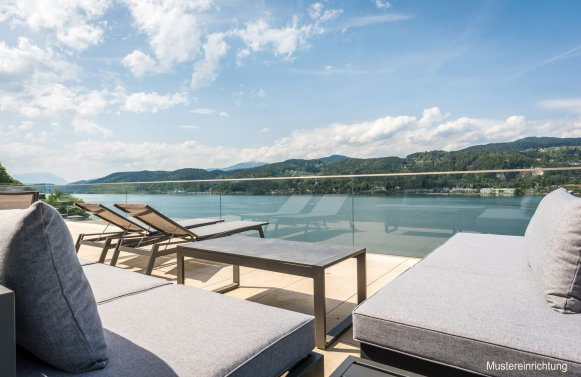 Property in 9082  Maria Wörth: WÖRTHERSEE: Exclusive apartment in luxury resort!