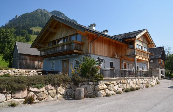 Property in 8982 Tauplitz - Bad Mitterndorf: Farm in secluded and panoramic position at 1,075 m above sea level