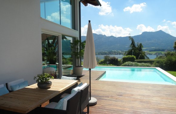 Property in 5310  Mondsee: POSTCARD LOCATION IN MONDSEE: