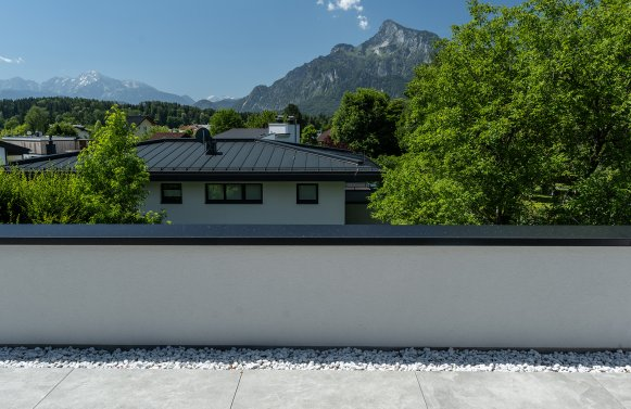 Property in 5020 City of Salzburg - Premium location Morzg: Urban panoramic view! Roof terrace dream for first-time occupancy