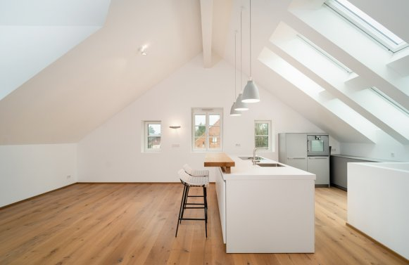 Property in 5020 Riedenburg/Maxglan - Salzburg: 127m² lifestyle with 80m² sun terrace in Maxglan