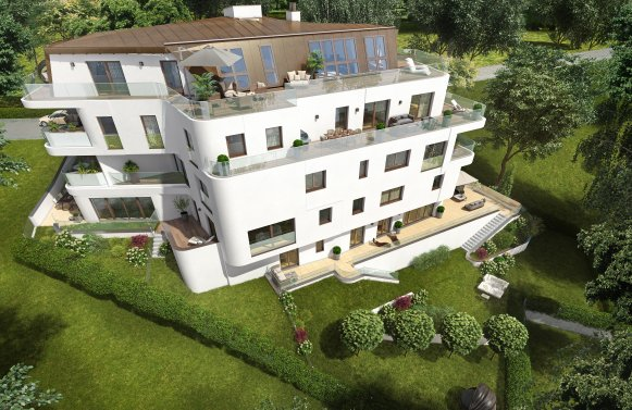 Property in 1190 Wien, 19. Bezirk: RELAXING WITH PANORAMIC VIEWS overlooking Kahlenberg
