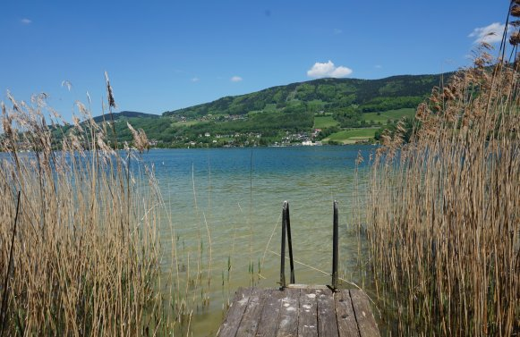 Property in 5310 Mondsee: Your lake retreat - Boathouse, annex and a perfect villa with lake view!
