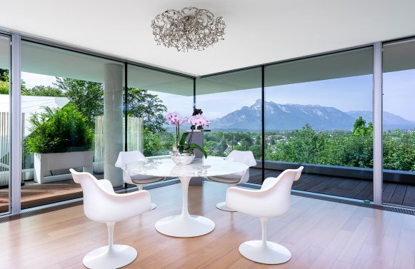Property in 5020 Salzburg - Aigen: QUINTESSENCE IN HILLSIDE LOCATION! Hideaway with an exquisite view