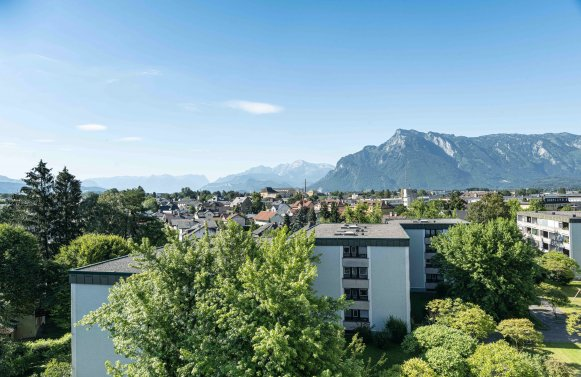 Property in 5020 Salzburg - Maxglan: A real star in the penthouse heaven! With an XXL roof terrace in an ideal central