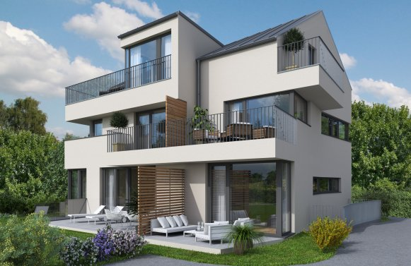 Property in 5020 Salzburg: 4-room roof terrace apartment in excellent, top-standard new build project!