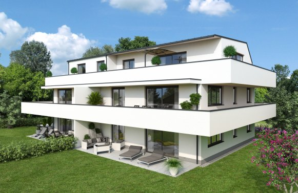 Property in 5020 Salzburg: WANT TO LIVE IN AIGEN? 4-room balcony star in small building project and excellent views!