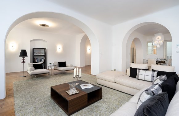 Property in 1010 Wien, 1. Bezirk: BAROQUE LIVING JEWEL IN THE HEART OF THE 1ST DISTRICT OF VIENNA