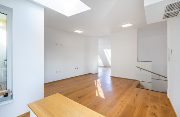 Property in 1040 Wien, 4. Bezirk: 4th district - near U1 Taubstummengasse: penthouse maisonette with 360 ° view