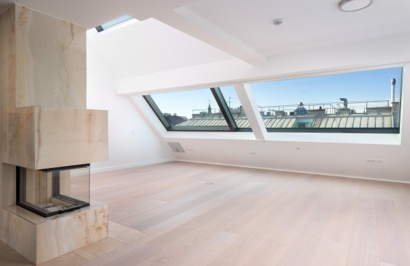 Property in 1010 Wien, 1. Bezirk: Glossy attic - penthouse with WOW effect!
