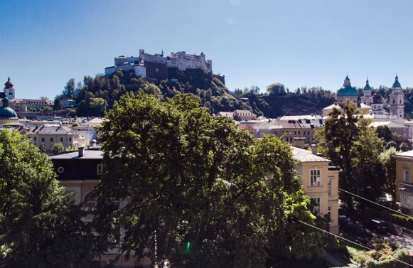 Property in 5020 Salzburg - Altstadt: I like Salzburg! Villa floor with fortress view