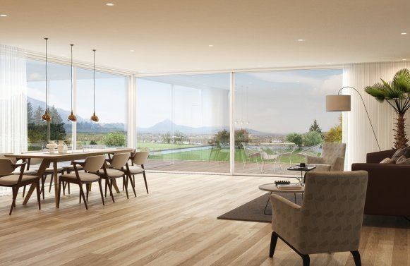 Property in 5061 Salzburg Süd: Residential glamour! New building project with perfect views in a prime location