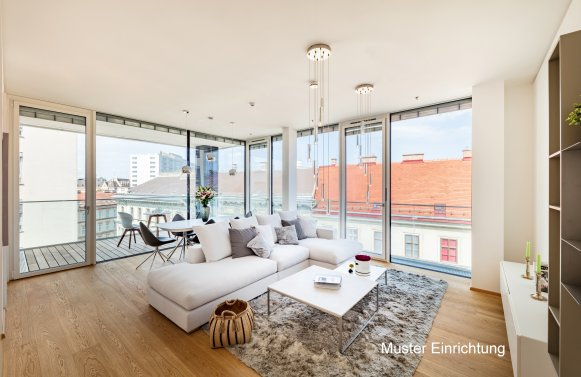 Property in 1030 Wien, 3. Bezirk: TOP LOCATION WITH TOP VIEW OF THE CITY IN THE DIPLOMATIC DISTRICT